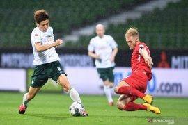 Heidenheim tahan imbang Bremen  pada playoff leg pertama