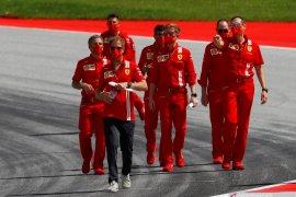 Vettel tegaskan tak pernah ada tawaran kontrak baru dari Ferrari