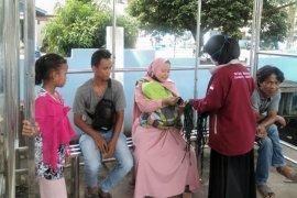 Kukerta, mahasiswa UNRI berikan edukasi cegah COVID-19 di Labura