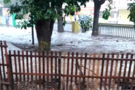 Banjir bandang landa sejumlah wilayah di Kota Gorontalo, Jumat