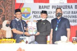 DPRD terima nota pengantar ranperda pertangungjawaban APBD Provinsi Jambi