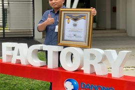 Danone SN Indonesia Factory in Yogya Won Gold Award in Occupational Safety Category