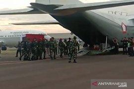 Panglima TNI Hadi Tjahjanto hadiri pelepasan jenazah prajurit yang gugur di Kongo