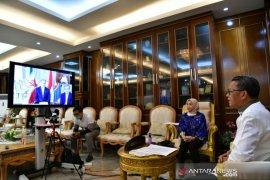 Gubernur Sulsel dan Duta Besar Iran jajaki kerja sama penanganan COVID-19
