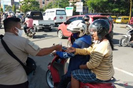 Pemkot Sorong sudah bagikan 10.300 masker kepada warga