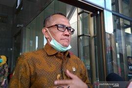 Ketua Komisi Yudisial Jaja Ahmad Jayus  datang ke KPK bahas pertukaran data hakim