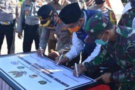Forkopimda Kabupaten Indramayu resmikan kampung tangguh COVID-19