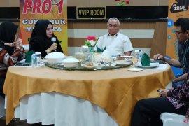 Gubernur Isran Noor akan evaluasi status kasus COVID-19