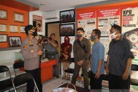 Polres Sukabumi periksa kesiapan pengamanan pilkada
