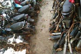 Satlantas Polres Belitung amankan 259 knalpot brong