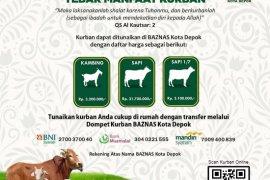 Baznas Depok: Pastikan hewan kurban dalam kondisi sehat
