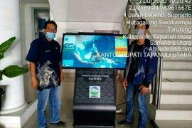 BMKG Deliserdang pasang alat  pendeteksi gempa di Tapanuli Utara