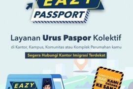 Jemput bola,  Ditjen Imigrasi beri layanan paspor kolektif