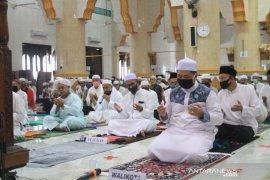 Wali Kota Shalat Jumat di Masjid Al Muttaqin, berdoa pandemi berakhir
