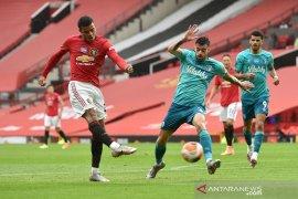 MU rebut empat posisi besar setelah bantai Bournemouth di Old Trafford