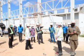 Anggota DPRD tinjau pembangunan Pasar Bauntung