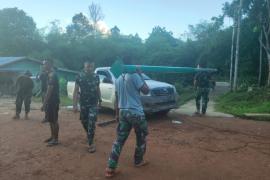 Warga Desa Beringin Rayo apresiasi TNI bangun PJU
