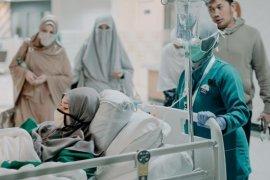 Bayi Zaskia Adya Mecca dipasang alat bantu pernapasan