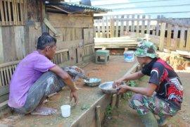 Komunasi sosial pererat tali persaudaraan antara TNI dan masyarakat