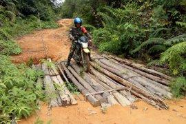 Melalui kegiatan TMMD TNI bangun infrastruktur daerah perbatasan
