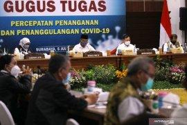 Menkes Terawan berkantor di Surabaya pantau penanganan COVID-19 Jatim
