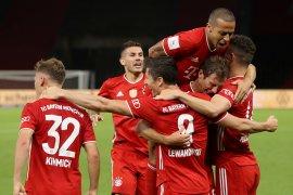 Bayern menangi gelar keduanya raih juara Piala Jerman