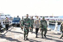 Korem 152/Babullah  edukasi masyarakat patuhi protokol kesehatan