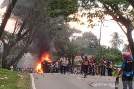 Kerusuhan Mompang, polisi tetapkan 17 orang tersangka