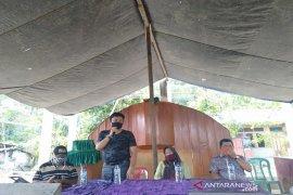 Sosialisasi normal baru di tengah jemaat GKPA Tatengger Angkola Muaratais