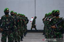 36 anggota TNI yang terkonfirmasi positif COVID-19 dalam keadaan baik