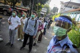 Pelaksanaan UTBK SBMPTN di Bandung