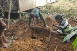 Semangat gotong royong warga Desa Beringin perlu diacungi jempol