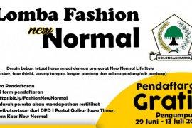 Lomba fashion normal baru digelar di Kota Surabaya