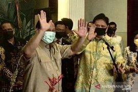 Prabowo dan Airlangga Hartarto ingin Pilkada serentak semarak tapi sejuk