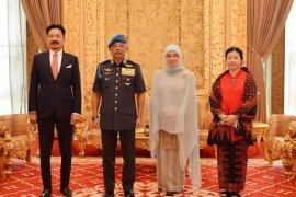 Dubes RI Rusdi Kirana pamit ke Raja Malaysia