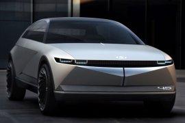 Hyundai perkenalkan konsep mobil listrik konsep 45