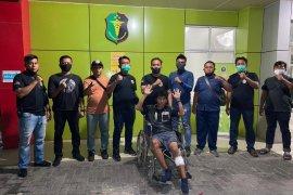 Penjambret wartawati di Medan ditembak polisi