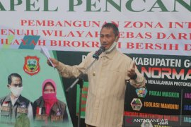 Pemkab Gorontalo canangkan zona integritas Dinas PM-PTSP