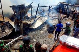 Enam ruko dan dua bengkel di Meulaboh hangus terbakar