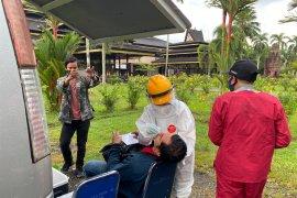 Hasil razia masker di Pontianak, lima orang positif COVID-19