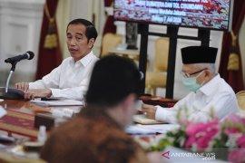 Presiden: Capaja TNI-Polri harus konsisten kepada ideologi negara