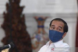 Presiden Jokowi memotivasi menteri, bukan marah-marah saat sidang paripurna