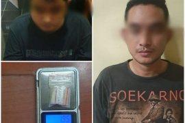 Kantongi sabu, dua pelaku ditangkap Satresnarkoba Polres Serang Kota