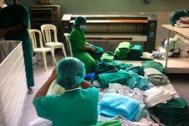 Pengelolaan linen infeksius di RSUP Sanglah melonjak selama COVID-19