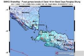 Gempa Lebak berpusat di darat akibat subduksi lempeng Indo-Australia