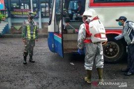 PMI Banyuwangi kerahkan puluhan relawan di pos perbatasan cegah COVID-19