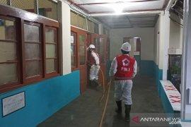PMI Kota Sukabumi disinfeksi beberapa lokasi jelang kunjungan Wapres