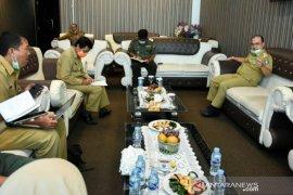 Gubernur Erzaldi rapat terbatas bersama Dinas Kehutanan Babel