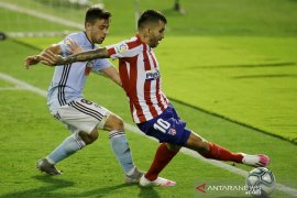 Atletico gagal jaga keunggulan  dan akhirnya diimbangi Celta