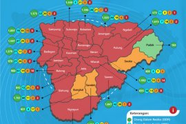 Status Ponorogo naik dari zona kuning ke oranye